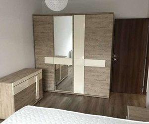 De inchiriat apartament cu 2 camere complet mobilat si utilat, living+bucatarie